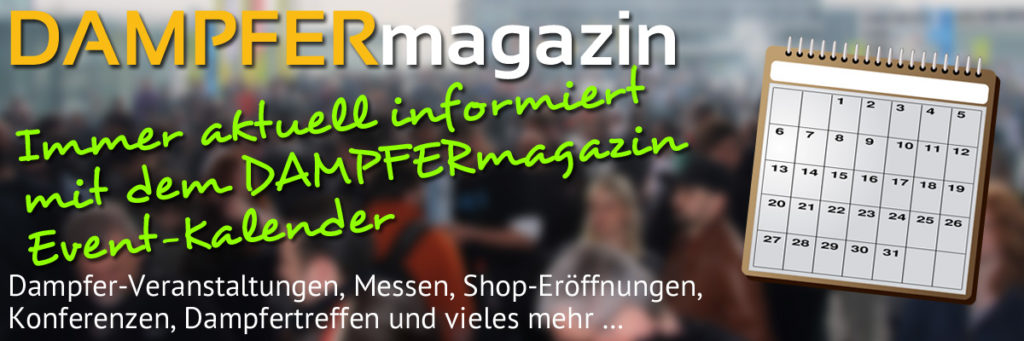 DAMPFERmagazin Events