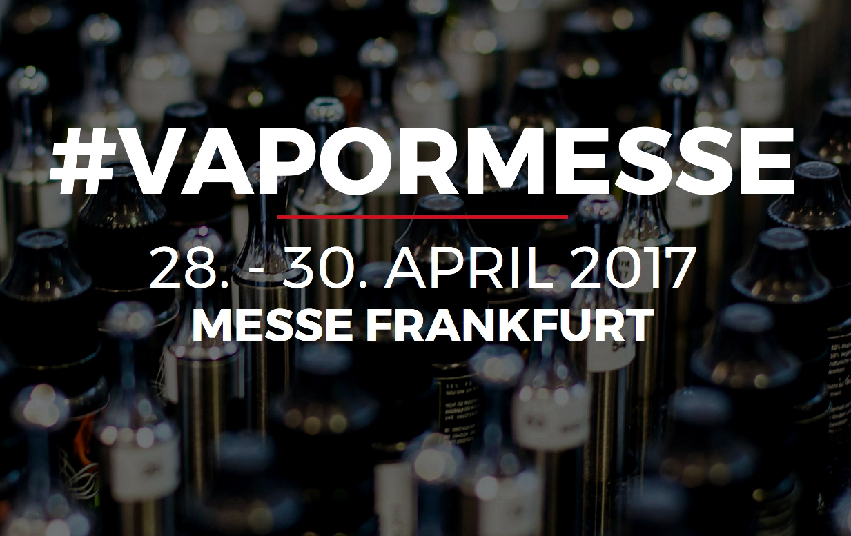 vapormesse vaporfair 2017 frankfurt. Black Bedroom Furniture Sets. Home Design Ideas