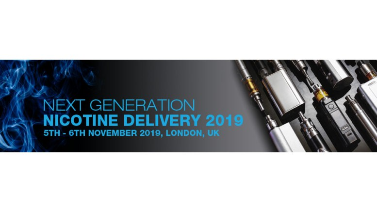 Next Generation Nicotine Delivery 2019 London Logo