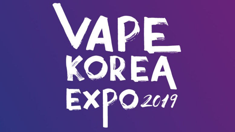 Vape Korea Expo 2019 Logo