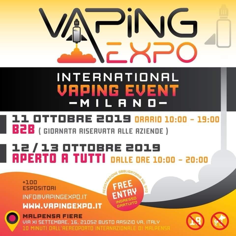 vaping expo milano 2019